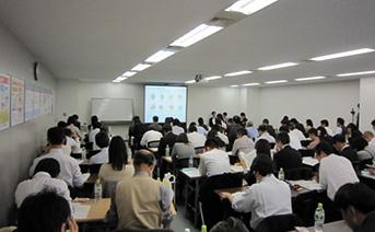 【グループワーク発表会の様子】